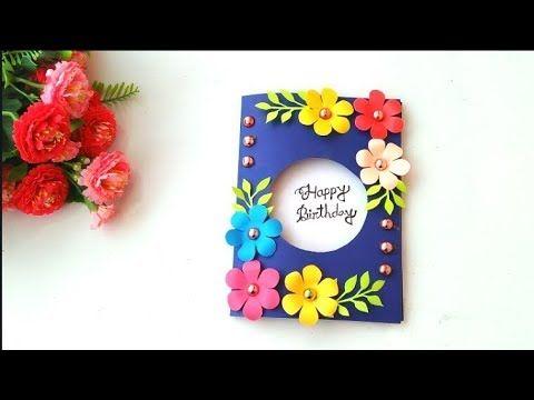 Beautiful Handmade Birthday Card Idea Youtube Handmade Birthday Cards Greeting Cards Handmade Birthday Greeting Cards Handmade