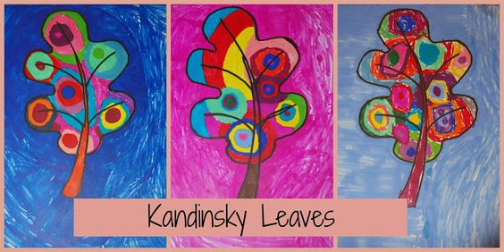 Kandinsky Leaves Art Project