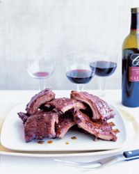 Spice-Roasted Baby Back Ribs with Apricot Glaze Recipe