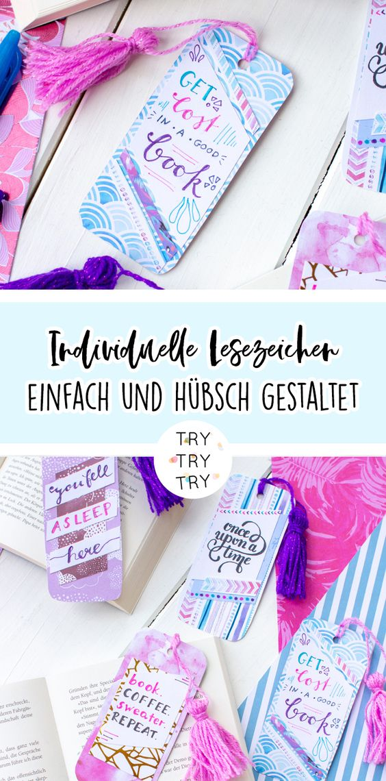 DIY individuelle Lesezeichen mit Cool To School – Design Your FriXion