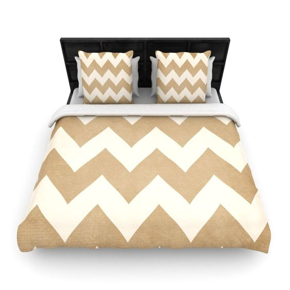 Catherine McDonald Woven Comforter Duvet Cover