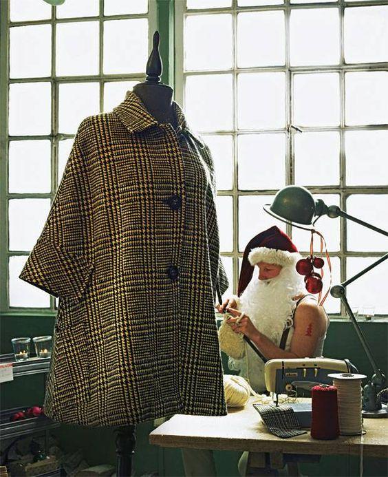 Cooler Trend zum Einkuscheln: Mit dem Glencheck-Cape nähen Sie sich garantiert ins Herz eines Mode-Fans. Steht nicht nur Fans von Sherlock Holmes.
