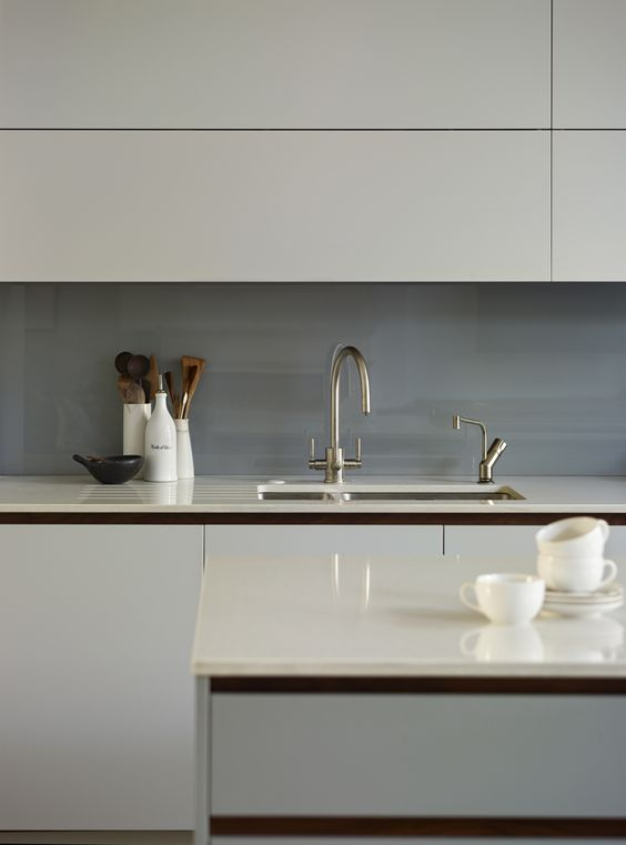 Composite Work Surfaces In Roundhouse Urbo Bespoke Kitchen