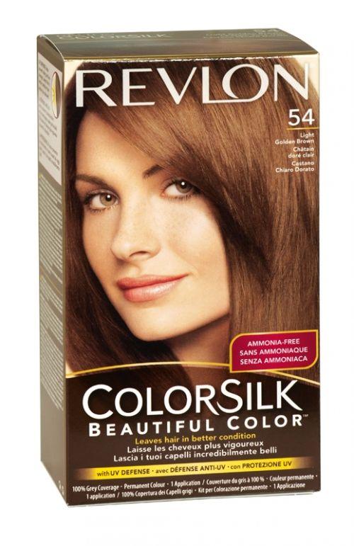 Revlon colorsilk hair colour 54 light golden brown ... - photo #45
