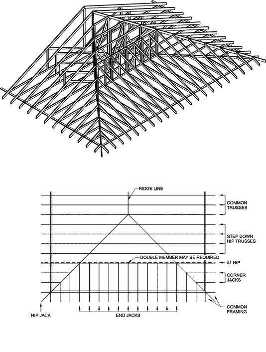 Image Result For Corner Roof Overhang With Deep Pitch Hip Roof Design Roof Framing Roof Design