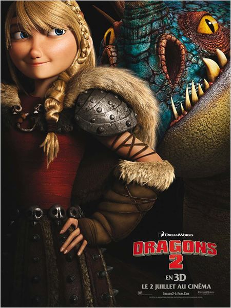 Dragons 2 : Affiche - AlloCiné