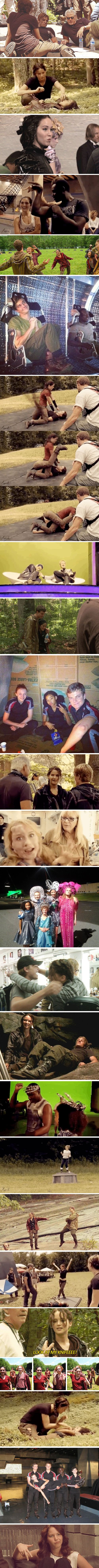Hunger Games, behind the scenes