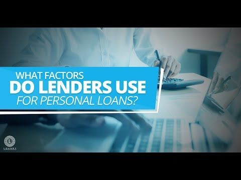 Knowing The Game And Playing It Well Could Save You A Lot On Interest And The Cost Of The Loan Overall Factorslendersuseforp In 2020 Personal Loans Loan Loan Lenders