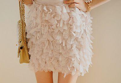 Petal skirt! [: