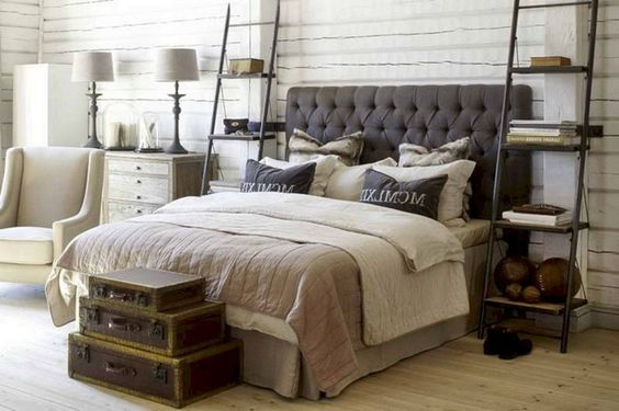35+ Magnificent Industrial Bedroom Design Ideas For Unique Bedroom Style #bedroom #bedroomdesign #bedroomdesignideas