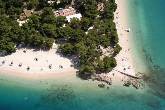 Playa Punta Rata, Brela, Croacia