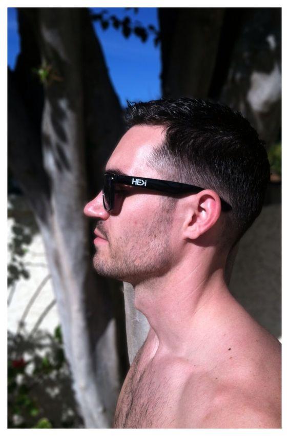 Men's haircut inspired by the dapper blacksmith Phillip Crangi