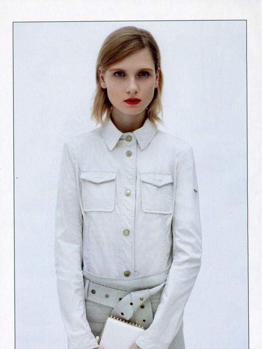 Maria Loks by Laurence Ellis for Gioia February 2013