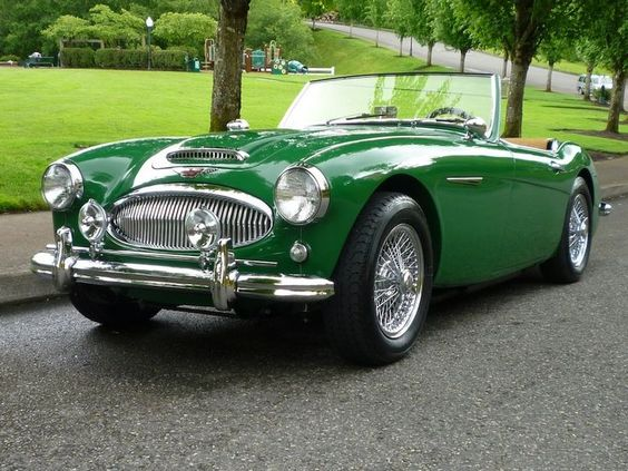 1965 Austin Healey  Maintenance/restoration of old/vintage vehicles: the material for new cogs/casters/gears/pads could be cast polyamide which I (Cast polyamide) can produce. My contact: tatjana.alic@windowslive.com