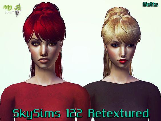 SkySims 122 Retextured