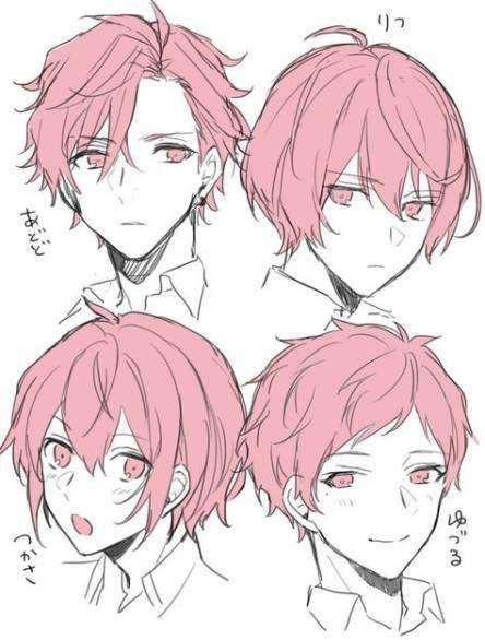 Anime Hair In 2020 Drawing Male Hair Anime Boy Hair Drawing Hair Tutorial