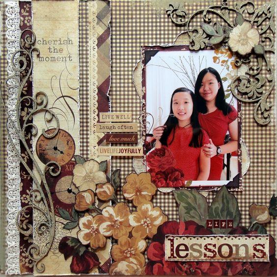 Life Lessons - Scrapbook.com