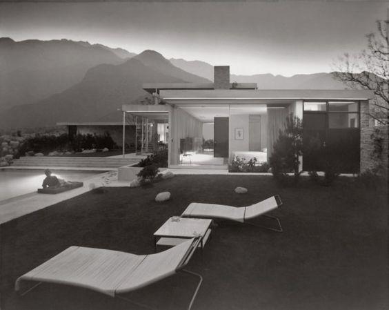 Richard Neutra Kaufman House Palm Springs California