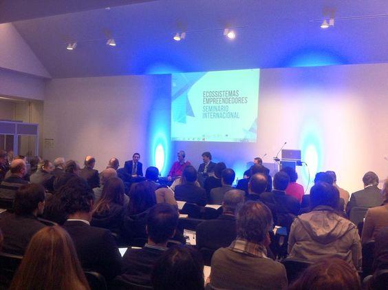 Ecossistemas empreendedores na IEMinho. - Entrepreneurship ecosystems at IEMinho