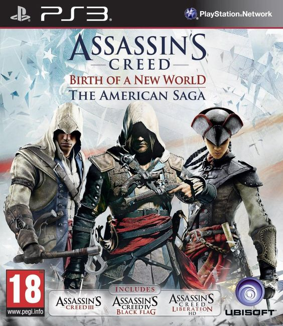 LOWEST EVER PRICE DROP Assassin's Creed The American Saga Collection PS3 Game NOW £20