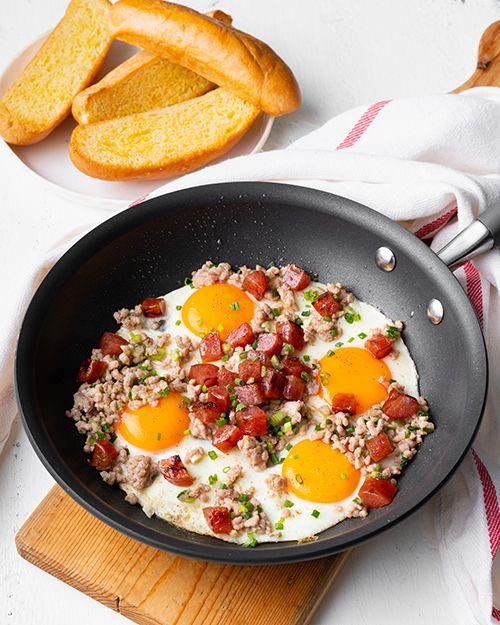 Asian Breakfast Skillet Marion S Kitchen Recipe Asian Breakfast Breakfast Recipes Indian Asian Recipes