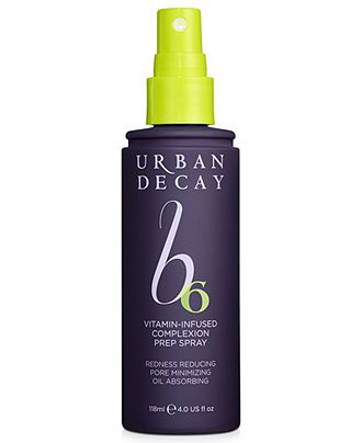 Give skin a beauty boost, Urban Decay complexion prep spray