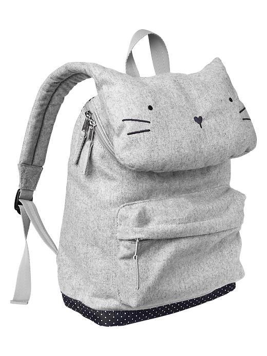 kitty backpack #genialidad