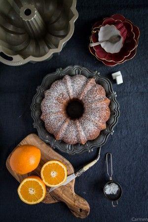 Bundt cake de naranja molde