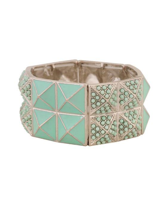 Pyramid Pattern Bracelet | FOREVER21 - 1000046773