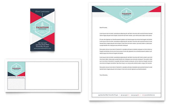 Bridal Show Business Card and Letterhead Template Design by - free word letterhead template