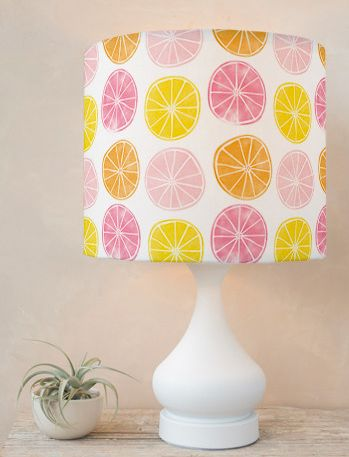 Sweet citrus lampshade