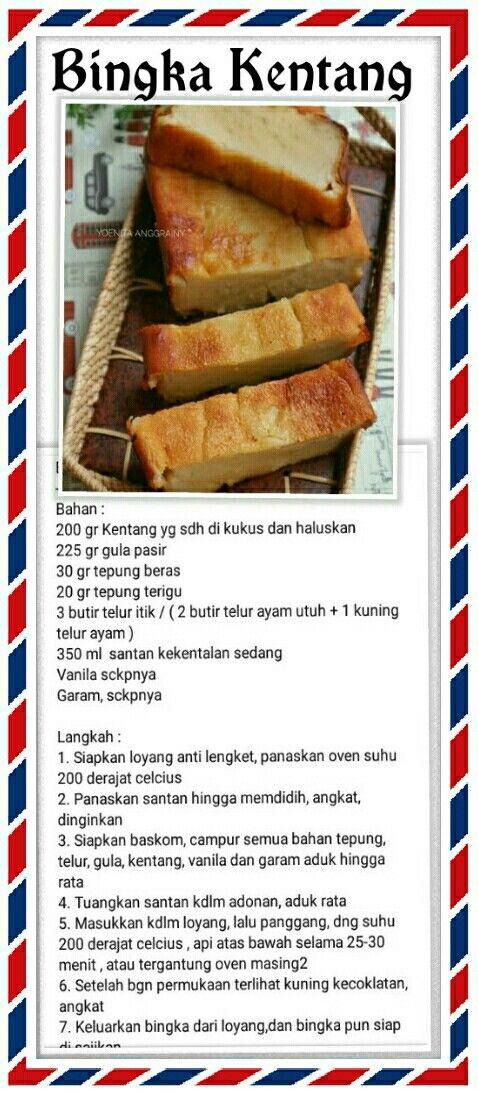 Bingka Ketan Makanan Dan Minuman Resep Labu Kuning Resep Masakan