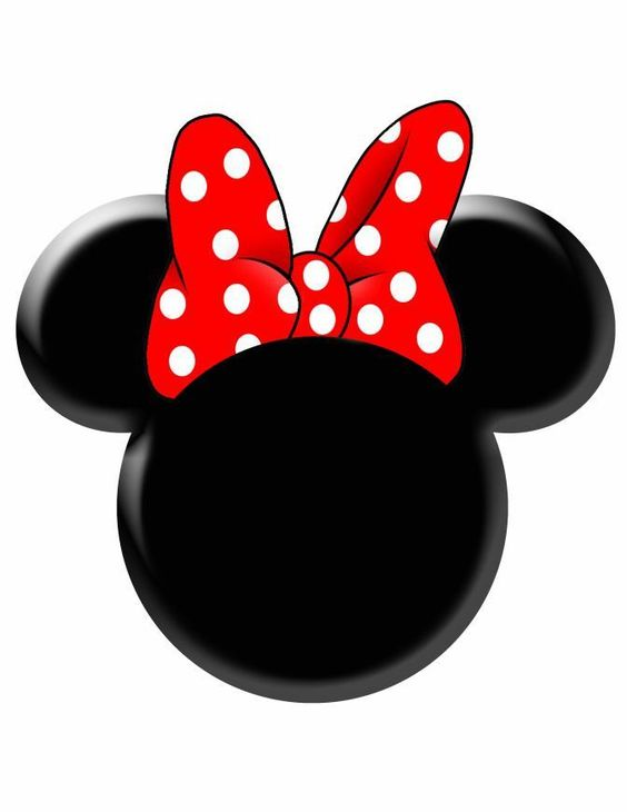 Minnie Mouse Head Invitation Template with luxury invitations sample