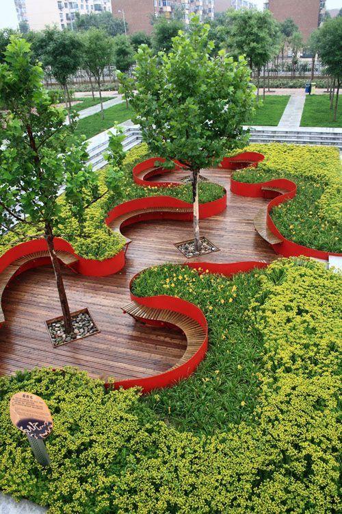 Pin By M Elsayedahmed On S8 Urban Landscape Design Parking Design Landscape Architecture Design