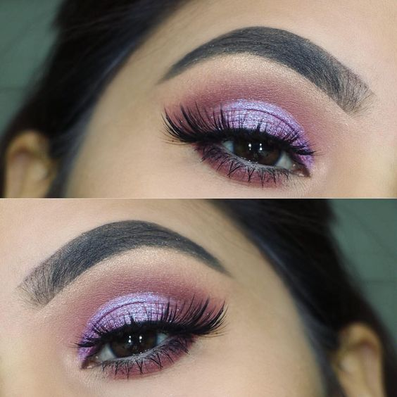 "13.6 mil curtidas, 64 comentários - @shophudabeauty no Instagram: ""#Repost @beautyglambyganga ・・・ Another eye look using new @hudabeauty desert dusk palette.…"""