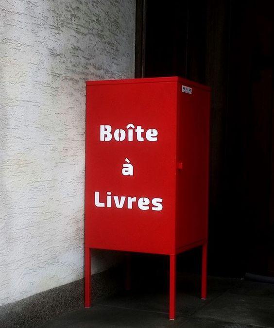 Boite à livres Léglise