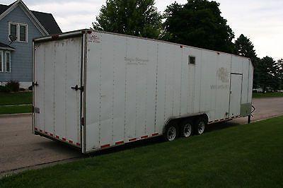 32' triple axle extra high enclosed trailer https://t.co/v6hhNtue0F https://t.co/6WrWz2H6Vv