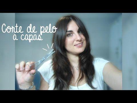Corte de pelo a capas + Flequillo abierto y desfilado | Aprende a cortarte el pelo tú misma