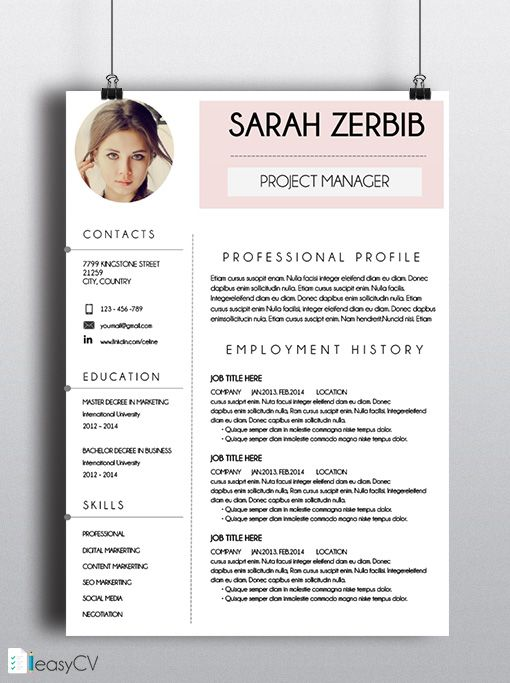 most of people who apply for a job have the same resume design  same certificate  with our
