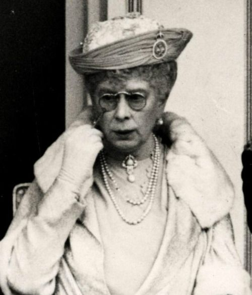 Mary of Teck (Victoria Mary Augusta Louise Olga Pauline Claudine Agnes; 26 May 1867 – 24 March 1953) was the queen consort of the United Kingdom and the British Dominions, and Empress of India, as the wife of King-Emperor George V.Queen Elizabeth II grandmother.: