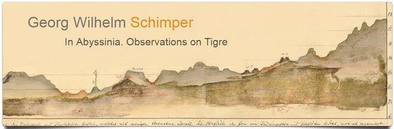 Georg Wilhelm Schimper en Abysinia