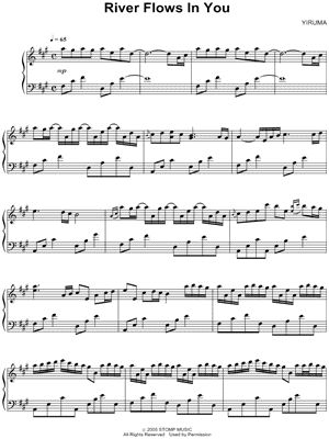 Bella's lullaby piano music letters