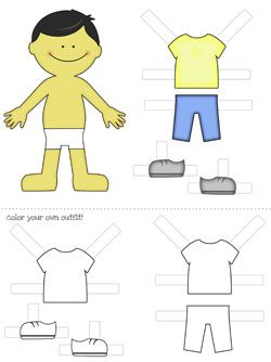 paper doll printable - Buscar con Google