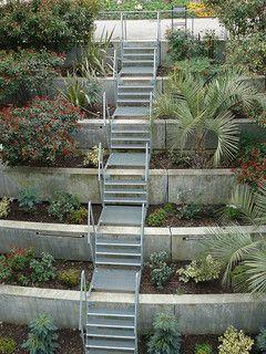 toulouse 31 escalier de service pr s du jardin japonais flickr photo sharing jardin en. Black Bedroom Furniture Sets. Home Design Ideas