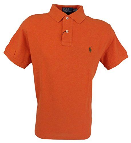 POLO RALPH LAUREN Polo Ralph Lauren Men Custom Fit Mesh Polo Shirt. #poloralphlauren #