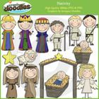Our Nativity collection includes all the images shown in the sample picture.  Graphics come in JPEG and PNG format 300 dpi format.  My graphics are...