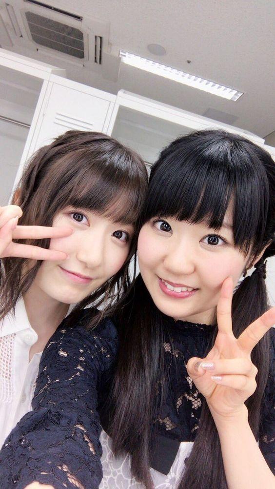 東山奈央さんと日高里菜さん