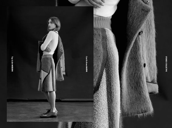 Stories Collective / Warm Shades / Photography Ivona Chrzastek / Styling Chat Sutatsanee / Make up Mai Kodama / Hair Fumi Maehara / Model Claudia at Hive Management / Design Lily Dunlop #layout #design #fashion #photography #editorial