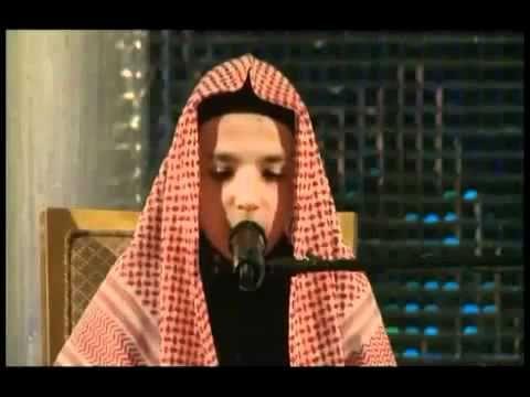 très belle récitation du Coran par un enfant.