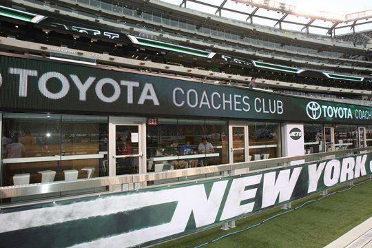 Field Level Toyota Coaches Club